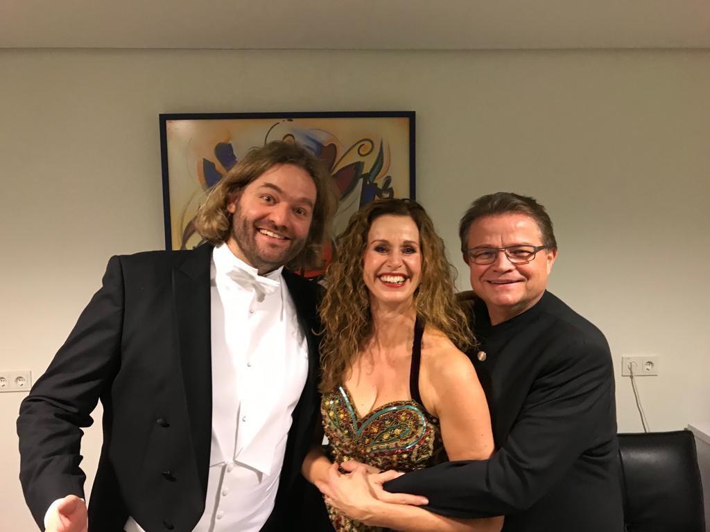 Wilma Bierens met Bariton Georg Gädker en tenor Arnold Bezuyen
